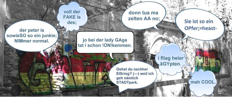 Beispiele für Jugendsprache