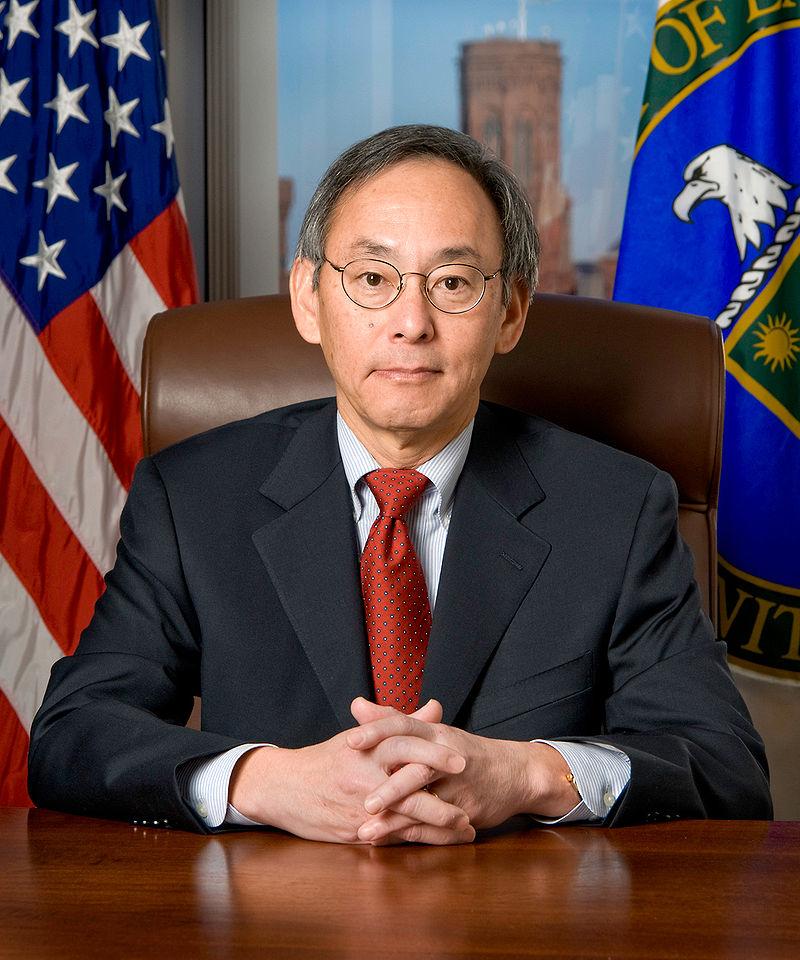 Das offizielle Portrait von Steven Chu
