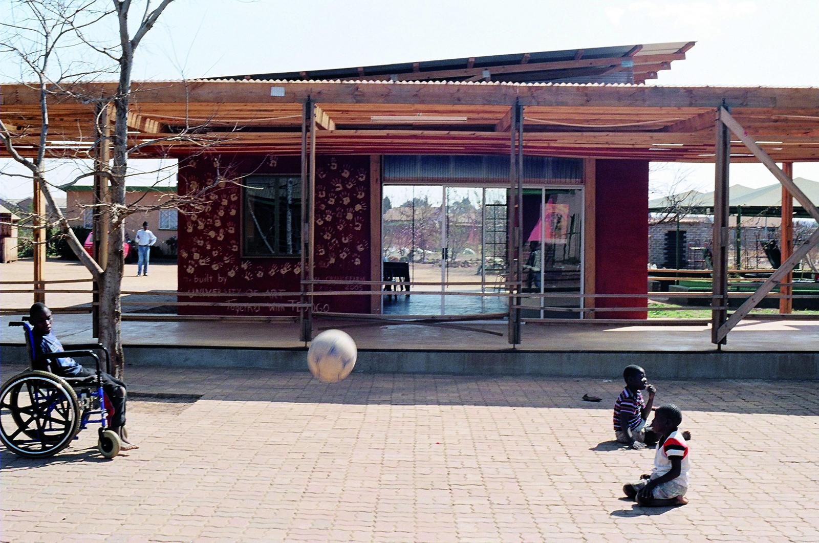 Das projekt TEBOGO im Südwesten Johannesburgs. © Sabine Gretner