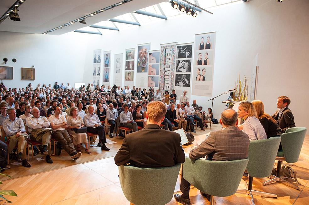 Panel im Erwin Schrödinger Saal © Luiza Puiu