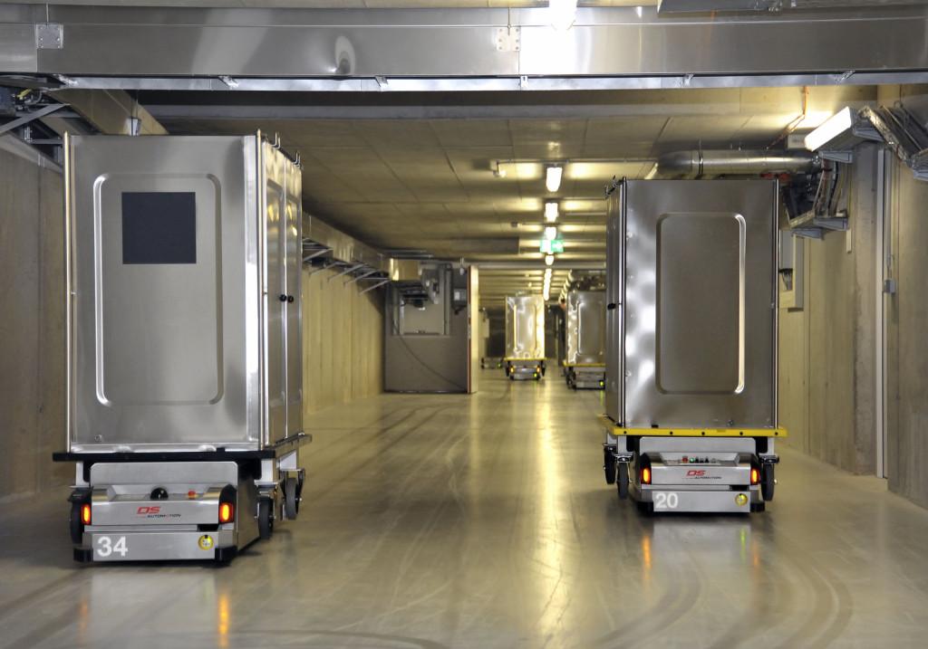 Krankenhauslösungen von der Linzer Firma DS AUTOMOTION.