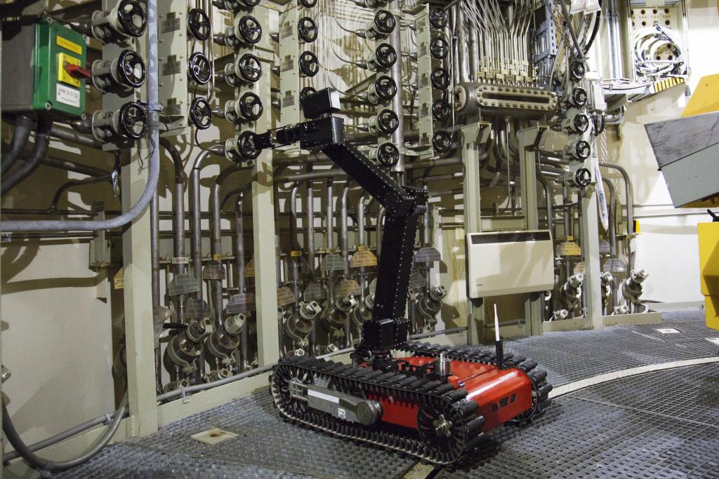 Der UGV – Taurob Tracker. Der weltweit erste mobile Roboter für explosionsgefährdete Umgebungen.