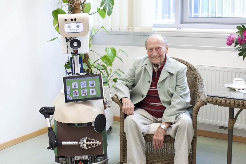 Der Pflegeroboter Hobbit wird an der TU Wien entwickelt