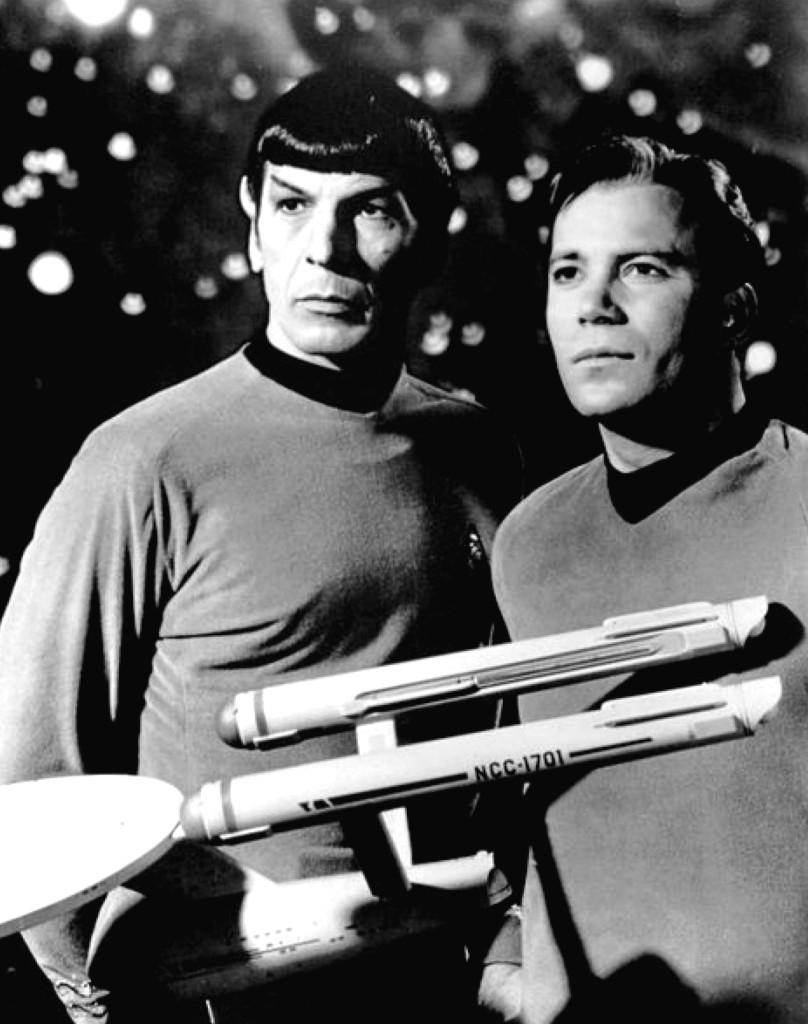Leonard Nimoy und William Shatner, 1968 © Wiki Commons