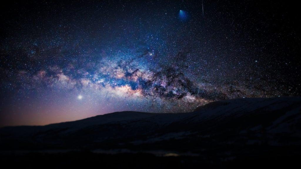Ein wolkenloser Himmel wäre ideal für die Sternschnuppennacht am 12. August.
