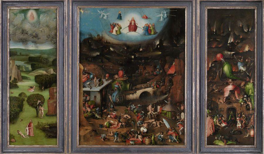 Das große Weltgerichtstriptychon des Hieronymus Bosch ist ein Highlight in der Gemäldegalerie der Akademie der bildenden Künste Wien und zählt zu den bedeutendsten Kunstwerken Österreichs. Bild: © Gemäldegalerie der Akademie der bildenden Künste Wien