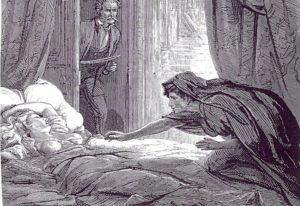 """Eine Szene aus dem Vampirroman """"Carmila"""", dessen Handlung tatsächlich in die Steiermark gelegt wurde."""