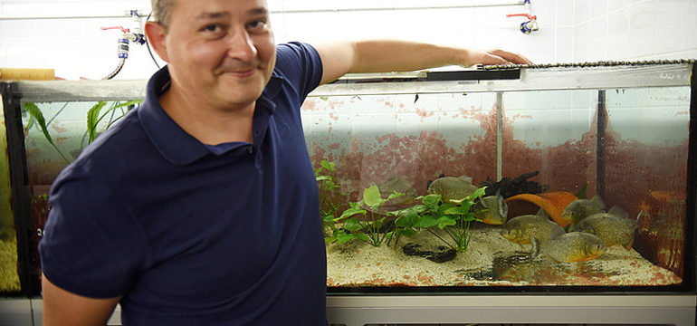 Univ.-Prof.Dr. Boris Chagnaud forscht am Institut für Biologie der Uni Graz