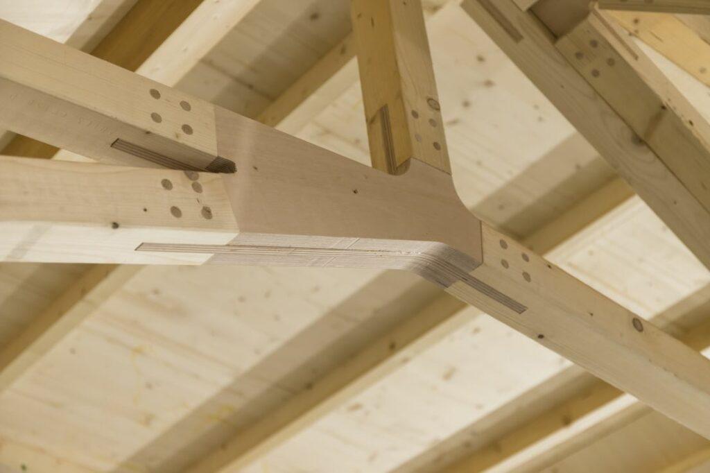 Holz Dachkonstruktion